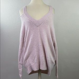 Pink cotton candy sweater, S/M